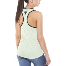 Nihil Kaya T-shirt zippé Femme, green mint